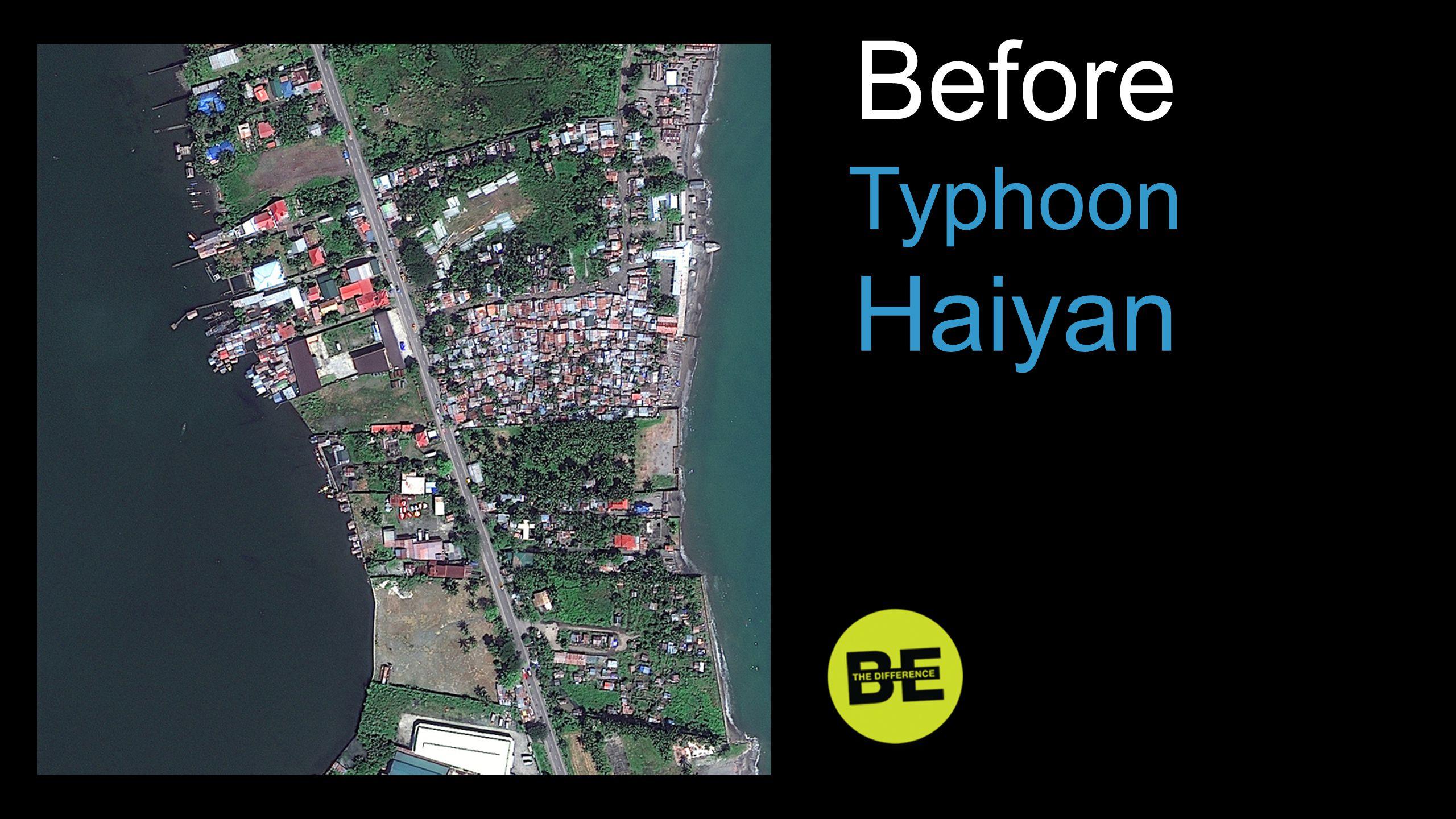 Before Typhoon Haiyan