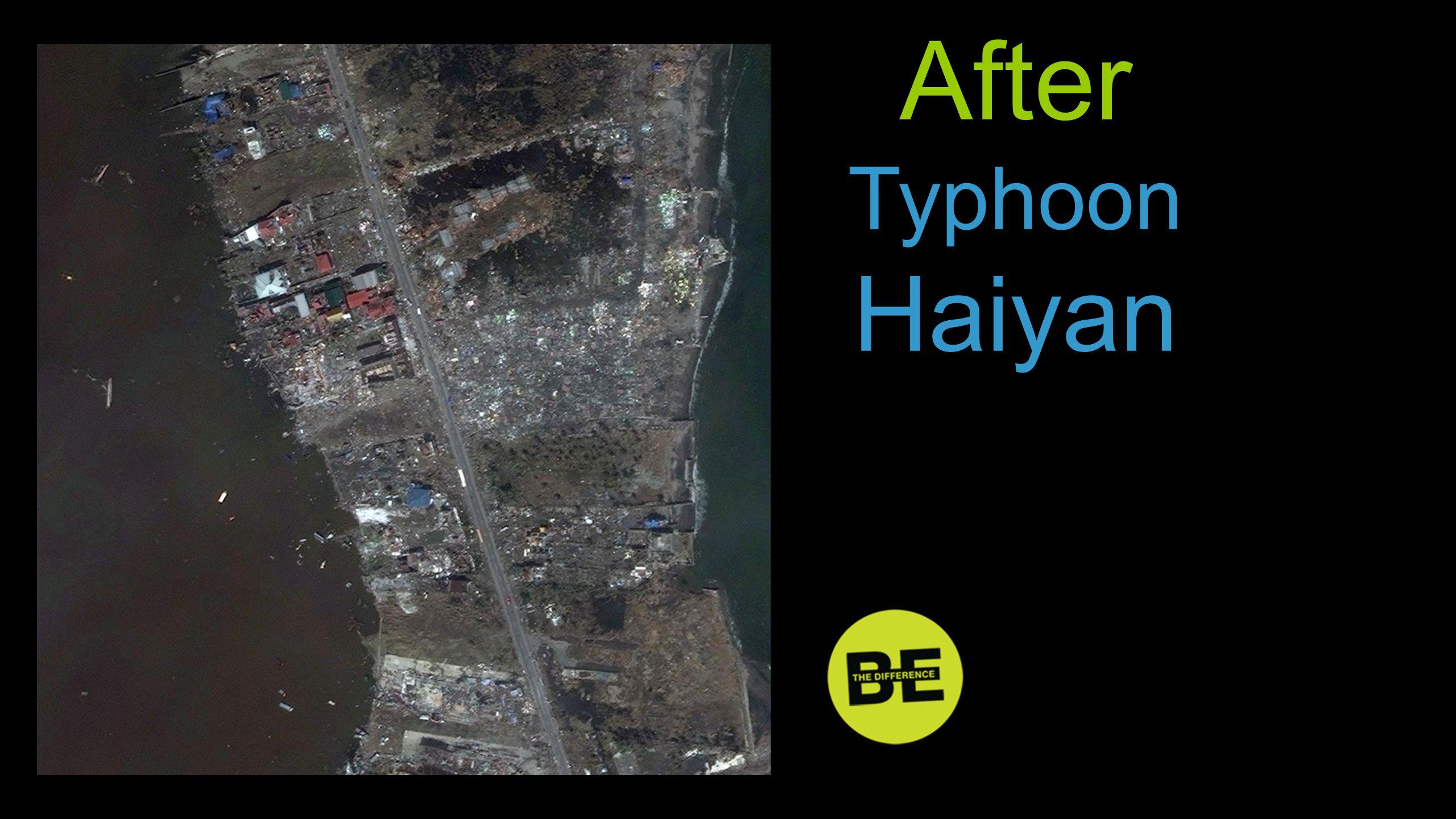 After Typhoon Haiyan