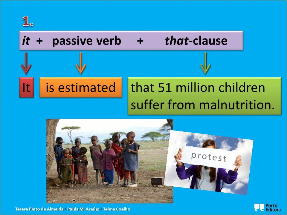 is estimated that 51 million children suffer from malnutrition.