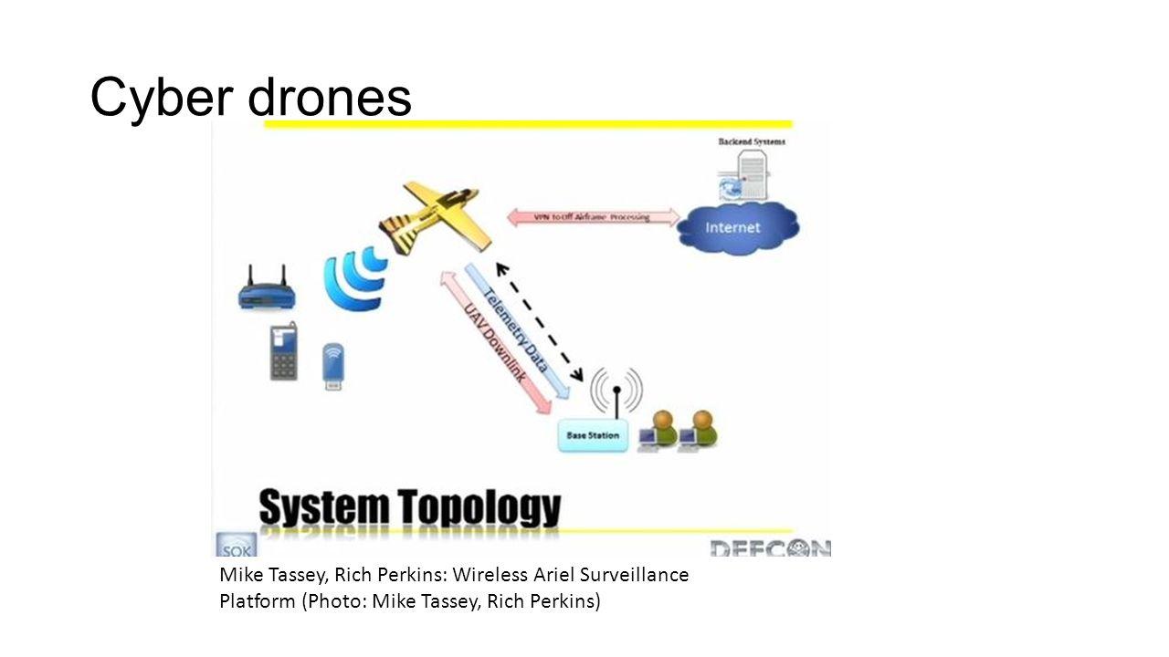 Cyber drones Mike Tassey, Rich Perkins: Wireless Ariel Surveillance Platform (Photo: Mike Tassey, Rich Perkins)