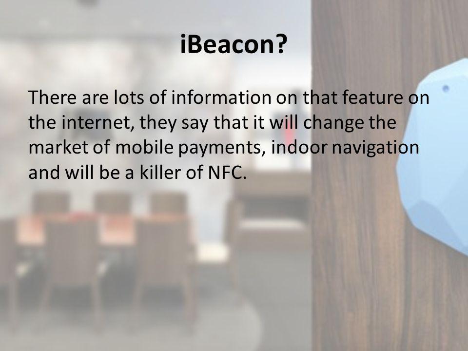 iBeacon.