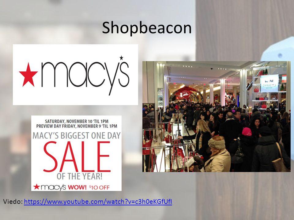 Shopbeacon Viedo: https://www.youtube.com/watch v=c3h0eKGfUfIhttps://www.youtube.com/watch v=c3h0eKGfUfI