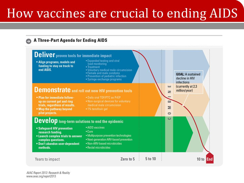 How vaccines are crucial to ending AIDS