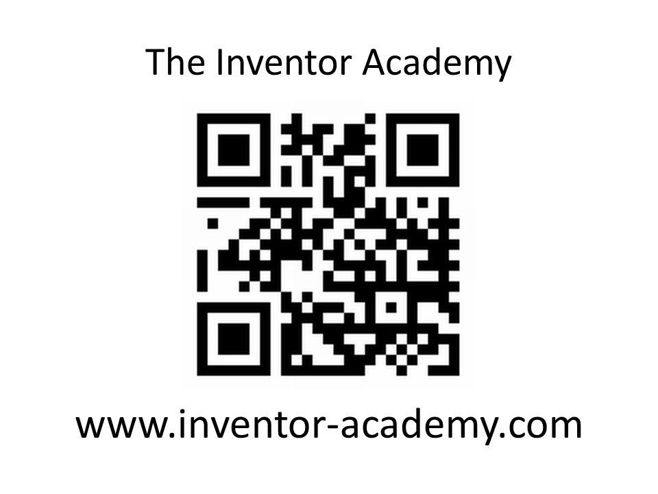 The Inventor Academy www.inventor-academy.com