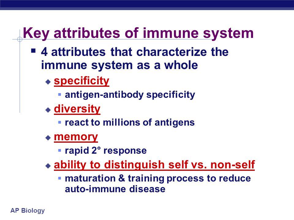 AP Biology Immune system malfunctions  Auto-immune diseases  immune system attacks own molecules & cells  lupus  antibodies against many molecules