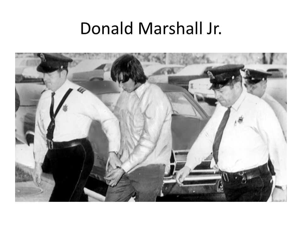 Donald Marshall Jr.