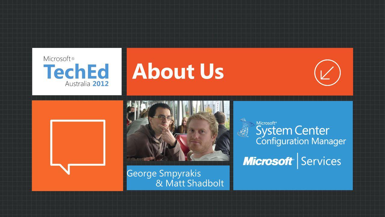 About Us George Smpyrakis & Matt Shadbolt