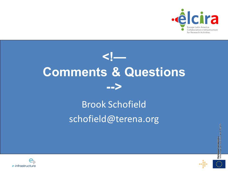 Brook Schofield schofield@terena.org