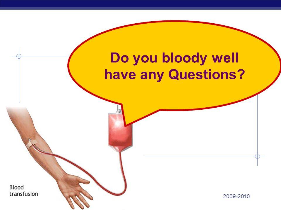 Blood donation clotting