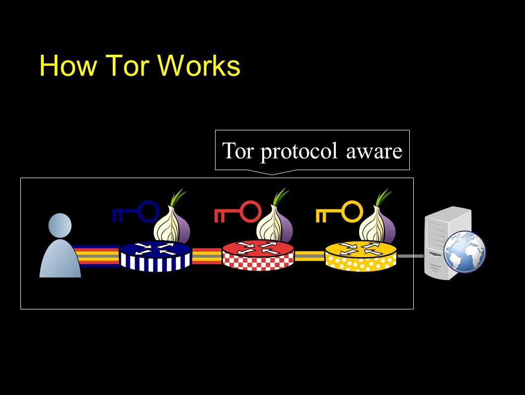 Tor protocol aware