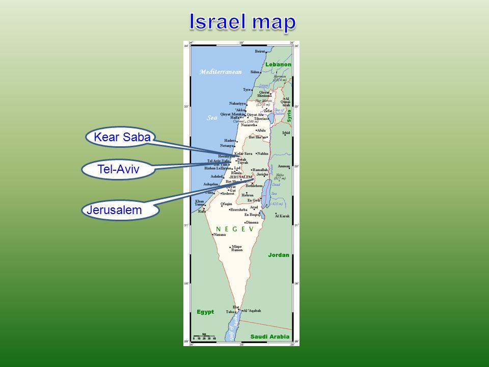 Kear Saba Tel-Aviv Jerusalem