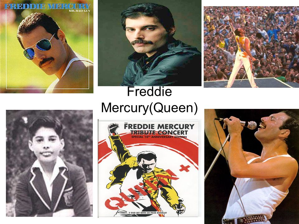 Freddie Mercury Personal Profile Name:Farokh Bulsara Nickname:Freddie Born: 05/09/1946 Died :24/11/1941 Genre: Hard rock; heavy metal, pop Instruments: vocal, piano, keyboard and guitar Activity Period: 1958 – 1991 Afilliations: Queen (1970 – 1991) Official Web Page: queenonline.com/fmercury.html