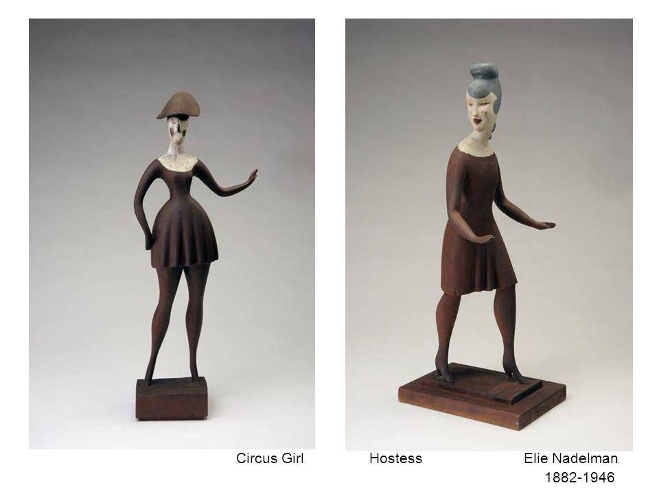 Elie Nadelman Dancer 1882-1946