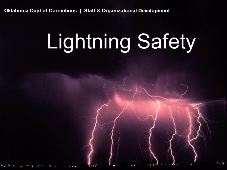 Safety Precautions - Inside There is no way to guarantee that you won t be hit by lightning.