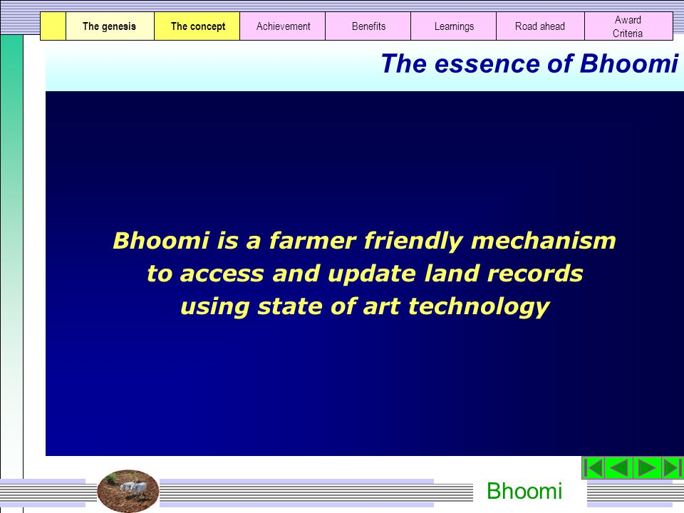 Bhoomi Farmers availing services