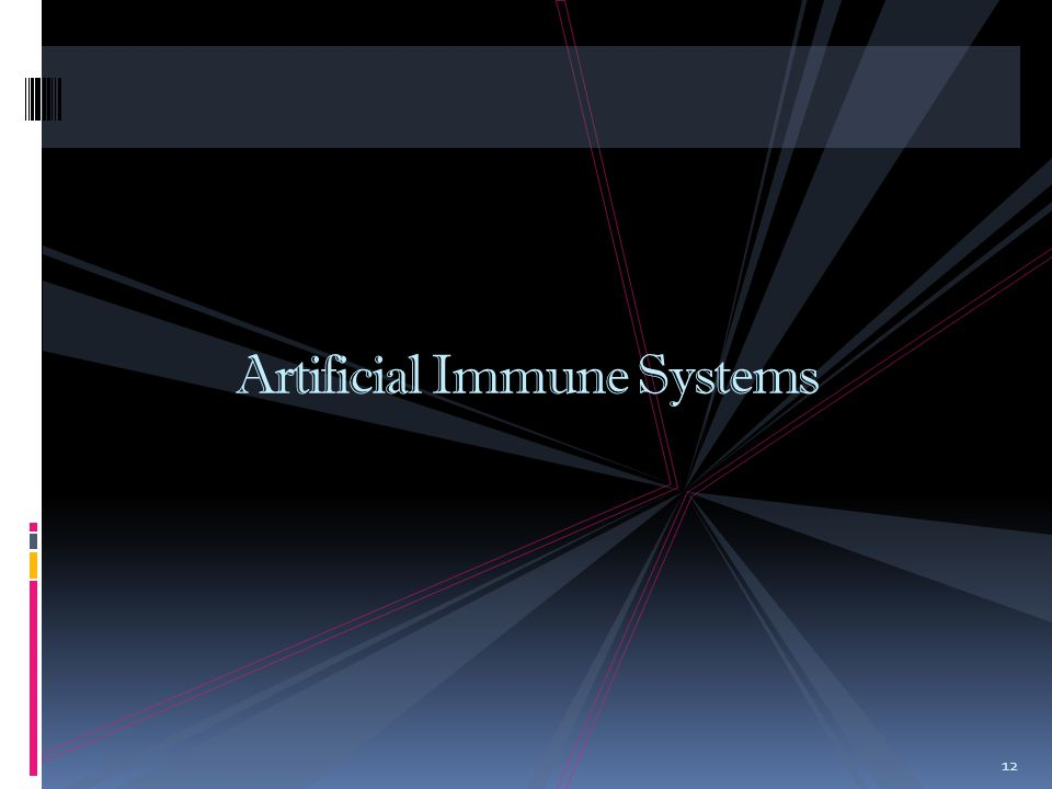12 Artificial Immune Systems