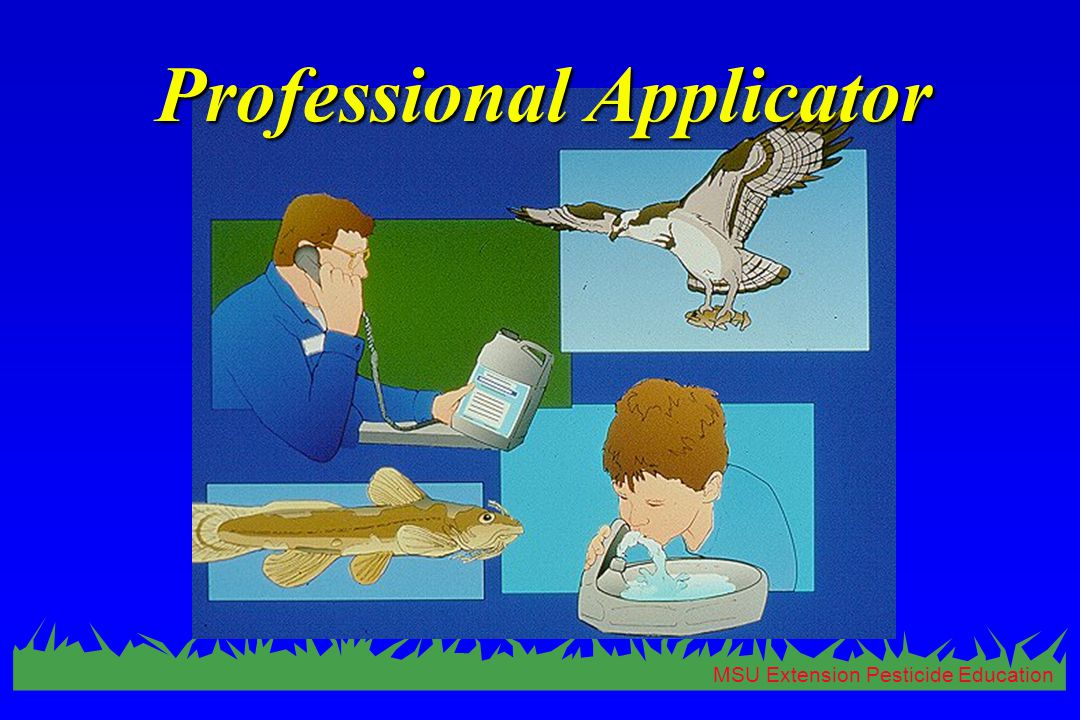 MSU Extension Pesticide Education Professional Applicator