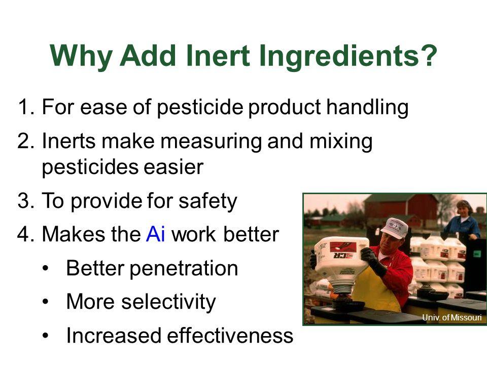 Other Formulations  Attractants/Repellents  Impregnates  Pesticide/Fertilizer Combination  Animal Systemics University of Kentucky