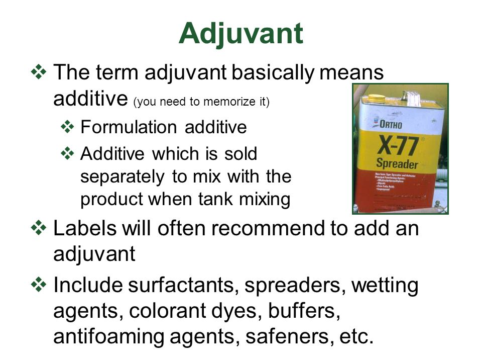 Deciphering the Ai Code in Product Names 80SP 80% active ingredient by weight Soluble Powder 40DF 40 % active ingred.
