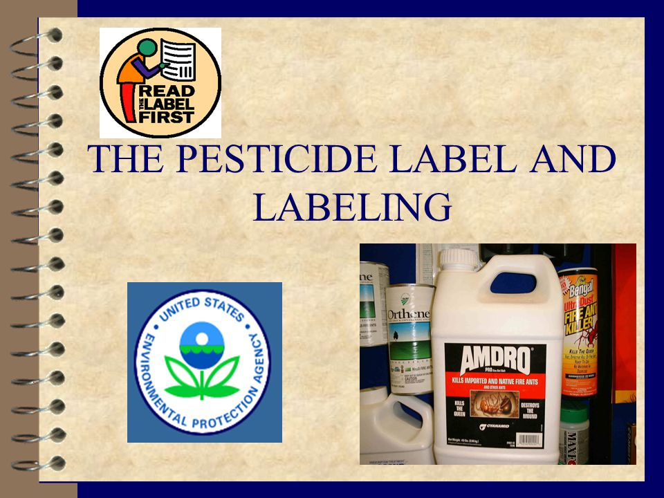 The Laws Regulating Pesticides 4 Federal Insecticide, Fungicide & Rodenticide Act (FIFRA) [as revised] 4 Louisiana Pesticide Law [Title 3, Chapter 20 LRS] 4 Rules & Regulations Written to Enforce Laws 4 State Primacy