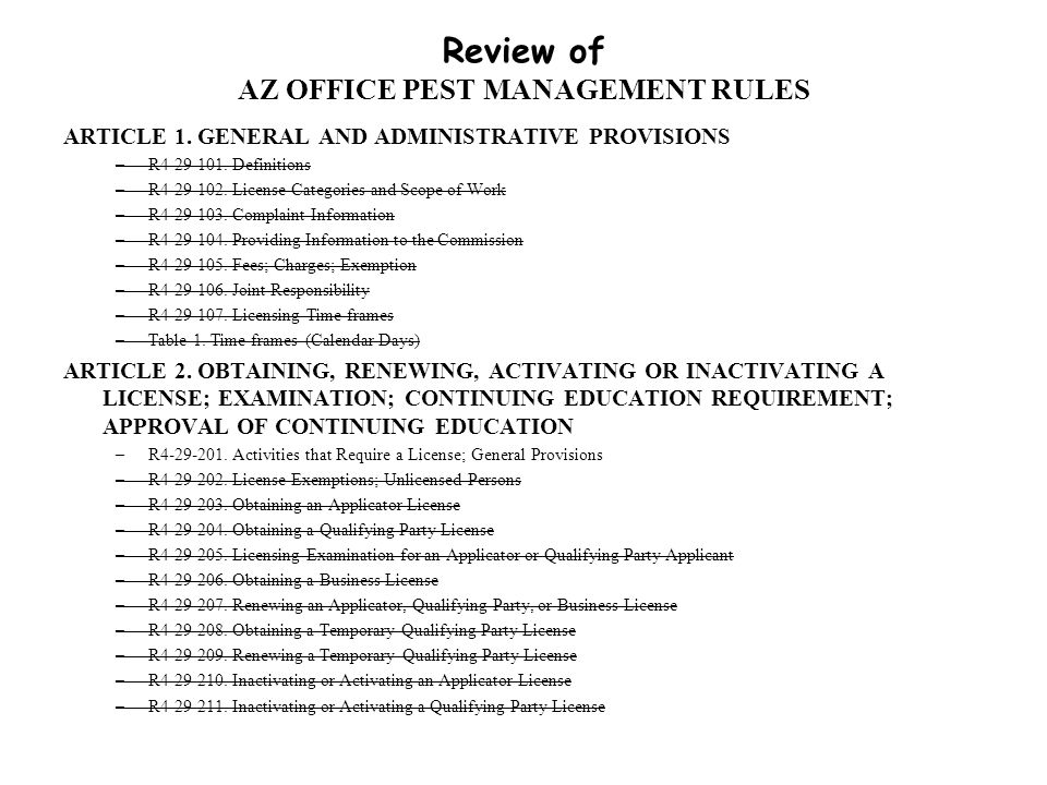 A Selected Overview Of 40 CFR 171 (Certification of Pesticide Applicators) 171.3 Categories of commercial applicators of pesticides 171.4 Standards for certification of commercial applicators ► 171.5 Standards for certification of private applicators ► 171.6 Standards for supervision of noncertified applicators by certified private and commercial applicators 171.7 Submission and approval of State plans for certification of commercial and private applicators of restricted use pesticides 171.9 Submission and approval of Government Agency Plan 171.10 Certification of applicators on Indian Reservations 171.11 Federal certification of pesticide applicators in States or on Indian Reservations where there is no approved State or Tribal certification plan in effect