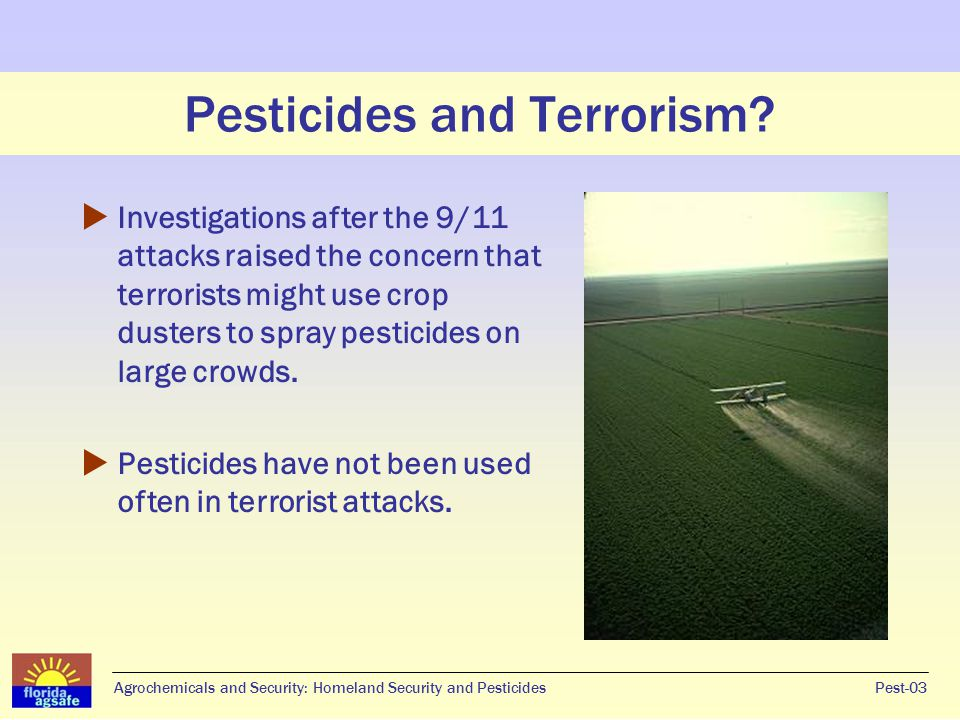 What is a pesticide.