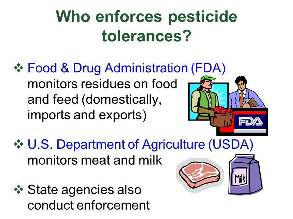 How does a pesticide applicator meet tolerance levels.