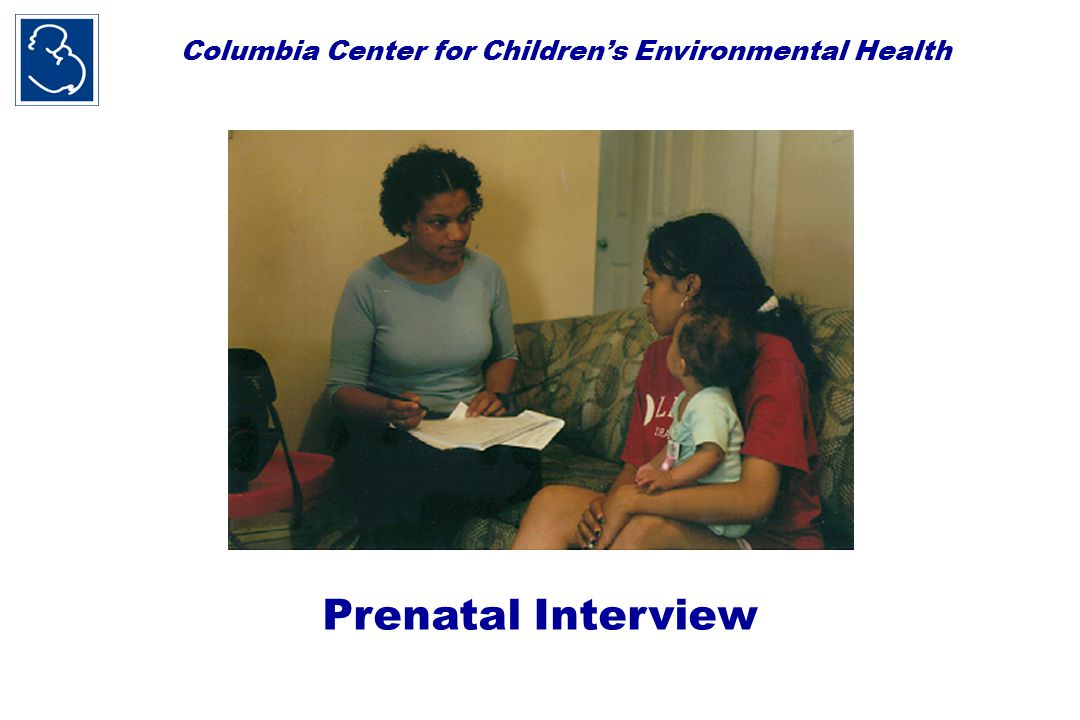 Columbia Center for Children's Environmental Health 48-hour personal air monitoring