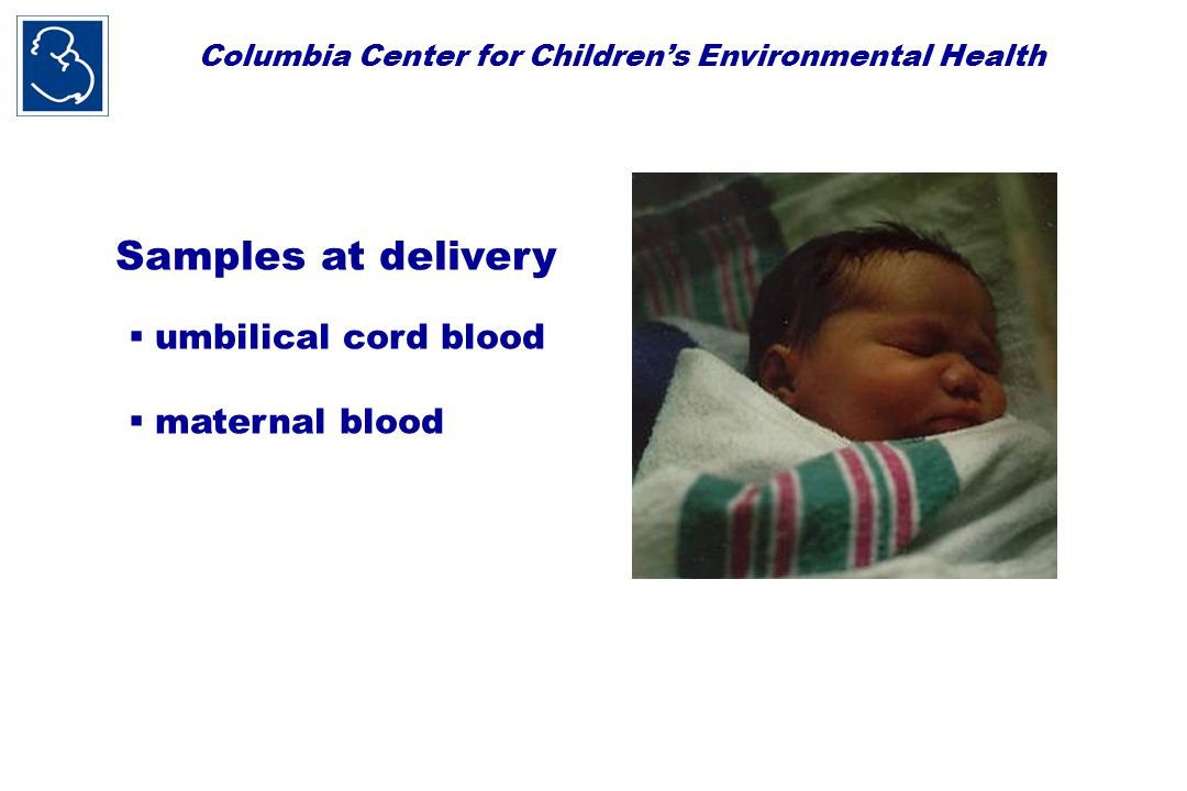 Columbia Center for Children's Environmental Health * No pest control methods Higher toxicity > once per month Higher toxicity  once per month Lower toxicity methods only Pesticides in personal air by use of pest control during pregnancy (Geometric mean) * p<0.01 compared to other groups ** p<0.001 linear trend ANOVA * **