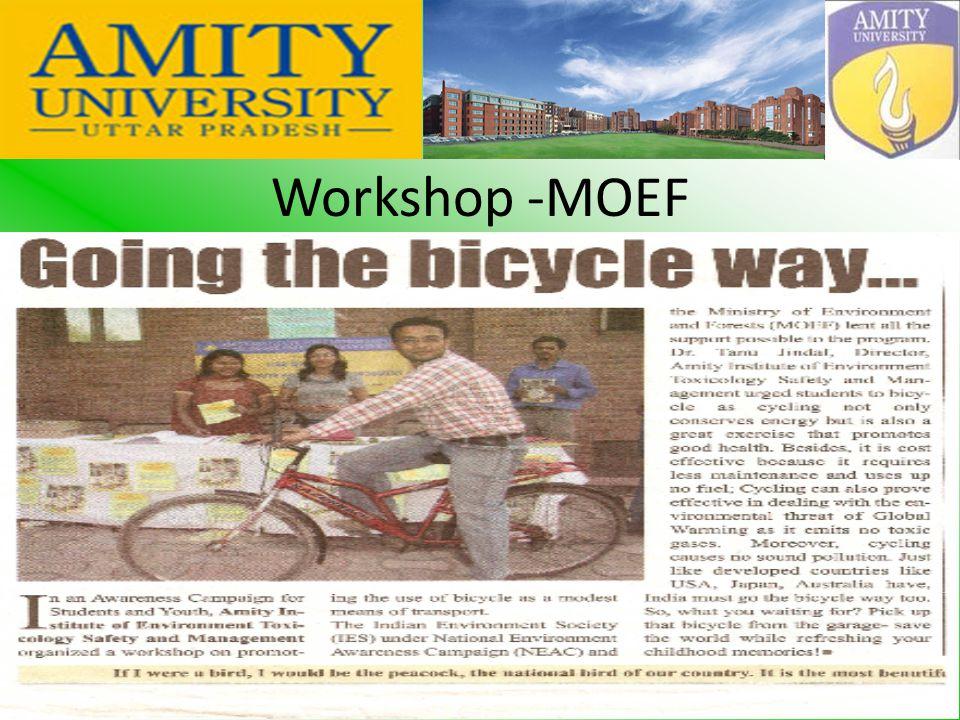 Workshop -MOEF