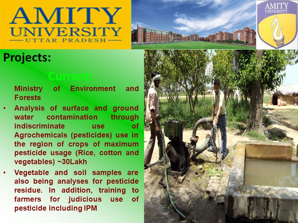 MICROBIAL LABORATORY Amity Institute of Environmental Toxicology, Safety and Management
