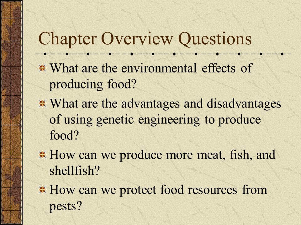 Benefits of Pesticide Usage