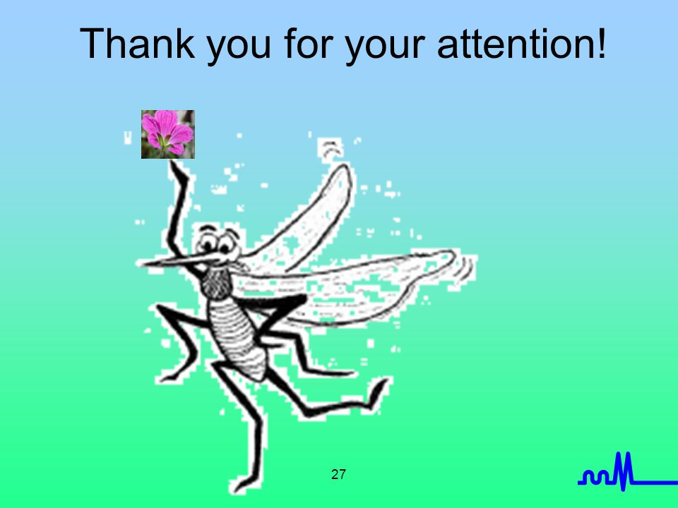 27 Thank you for your attention!