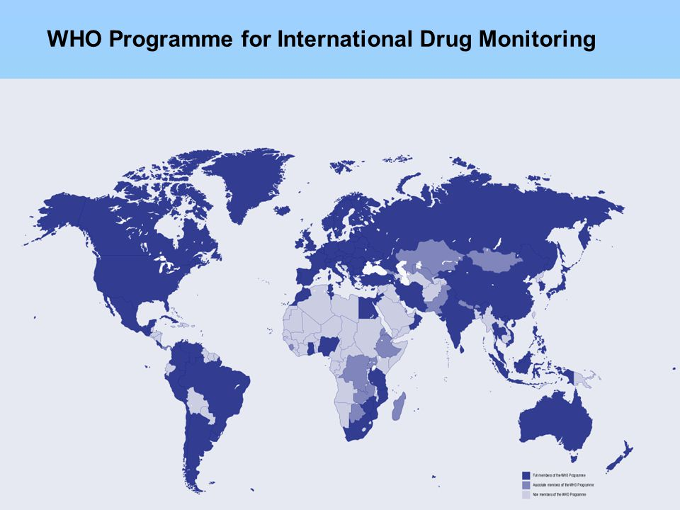 3 WHO Programme for International Drug Monitoring