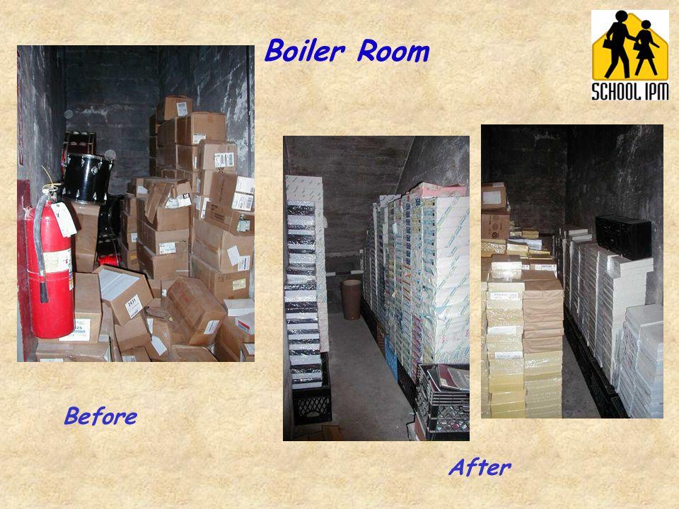 Boiler Room Before After