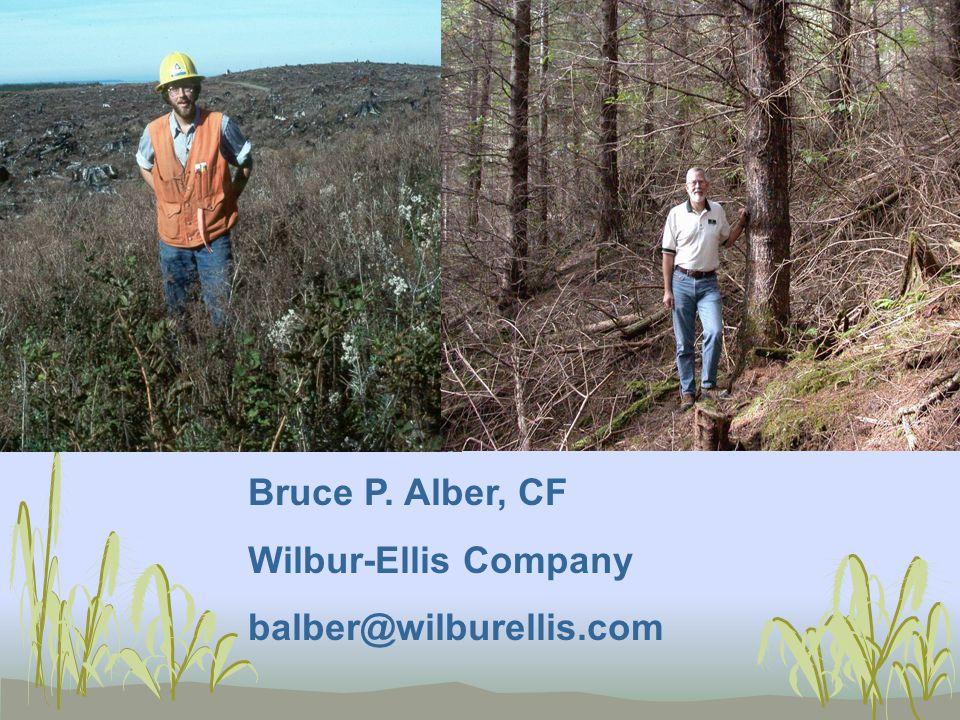 Bruce P. Alber, CF Wilbur-Ellis Company balber@wilburellis.com
