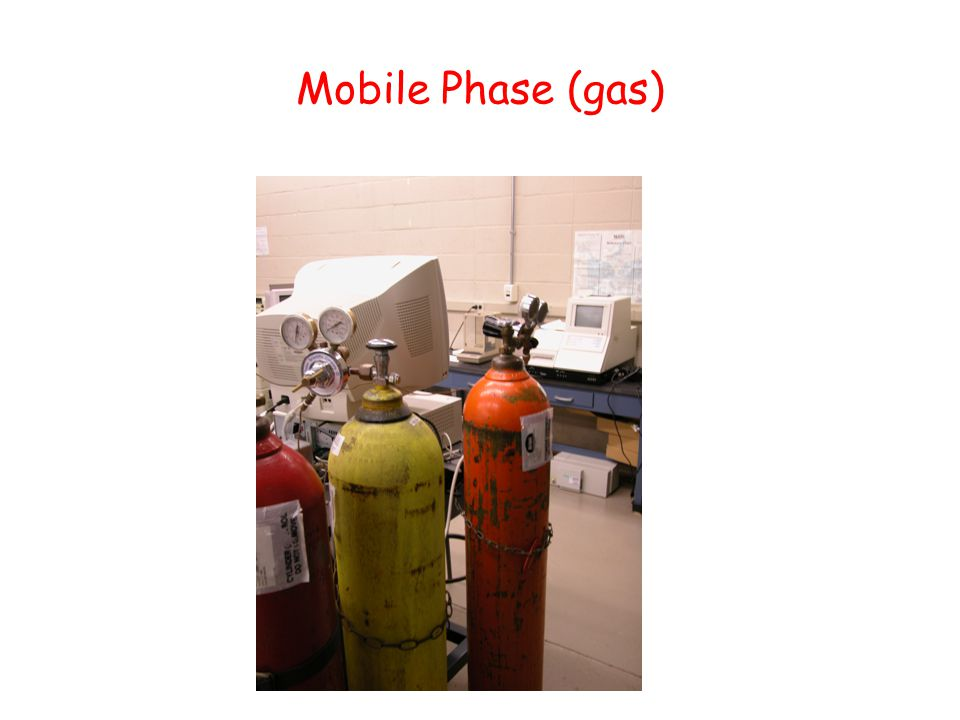 Mobile Phase (gas)