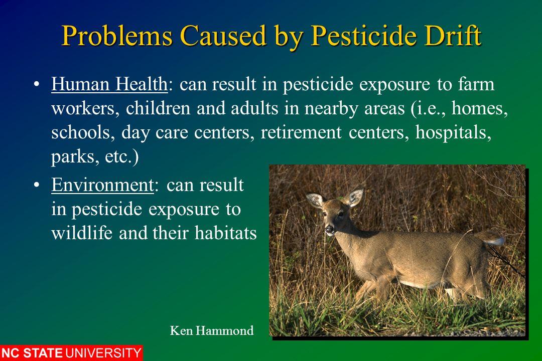 How to Minimize Pesticide Drift 8.