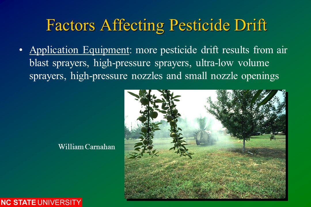 Pesticide Phytotoxicity: Factors Pesticide: chemical, solvents, concentration, formulation (EC formulations more phytotoxic than WP) Tim McCabe