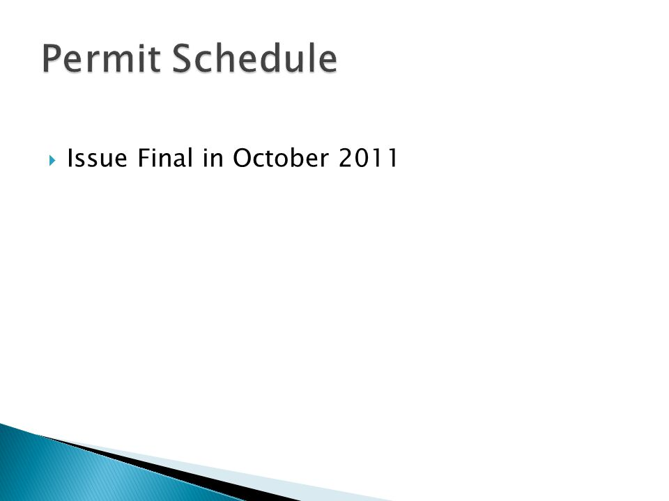  Issue Final in October 2011