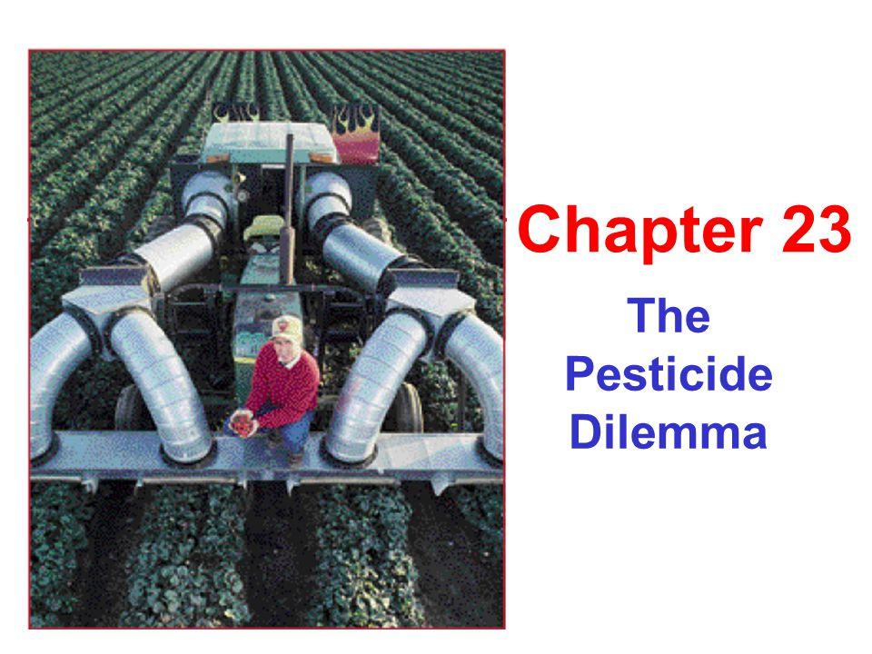 The Pesticide Dilemma Chapter 23