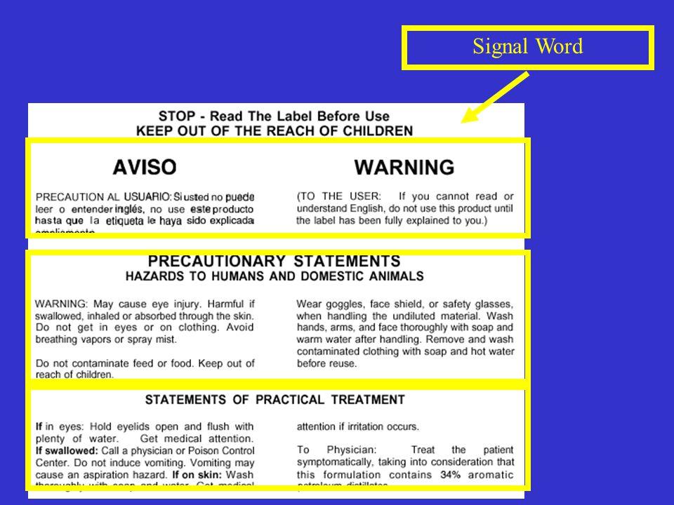 Signal Word