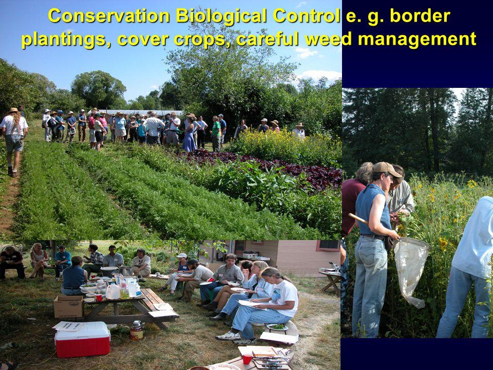 Evaluation Conservation Biological Control e. g.