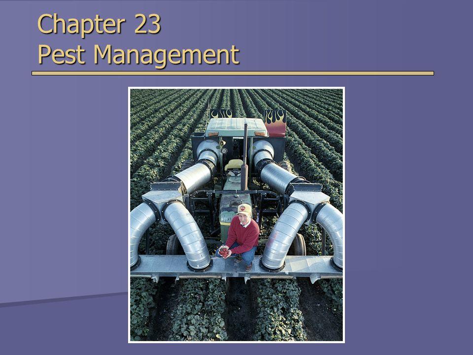 Chapter 23 Pest Management