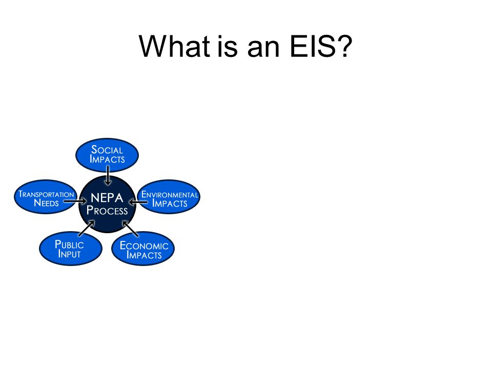 What is an EIS?