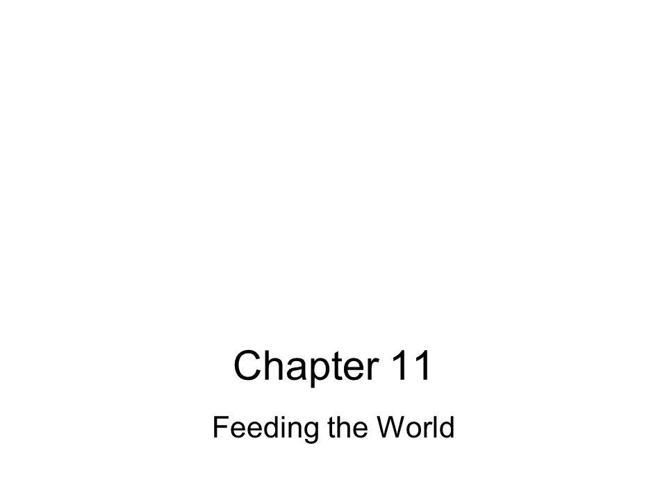Chapter 11 Feeding the World
