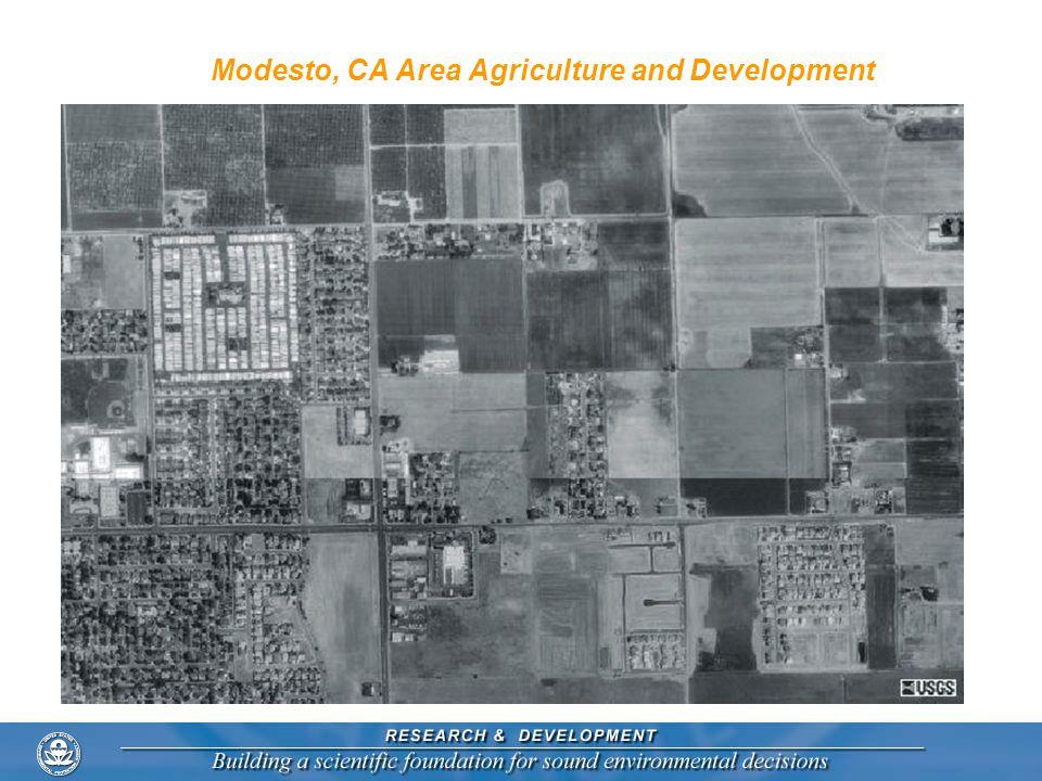 Modesto, CA Area Agriculture and Development