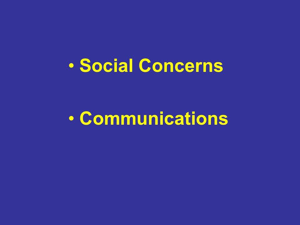 Social Concerns Communications