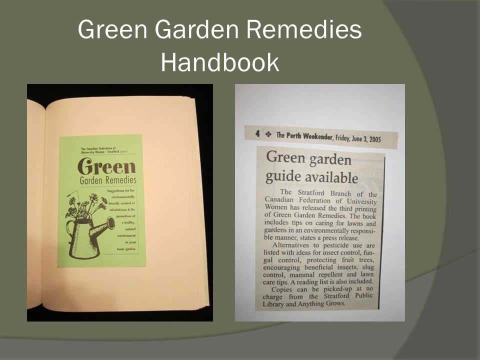 Green Garden Remedies Handbook