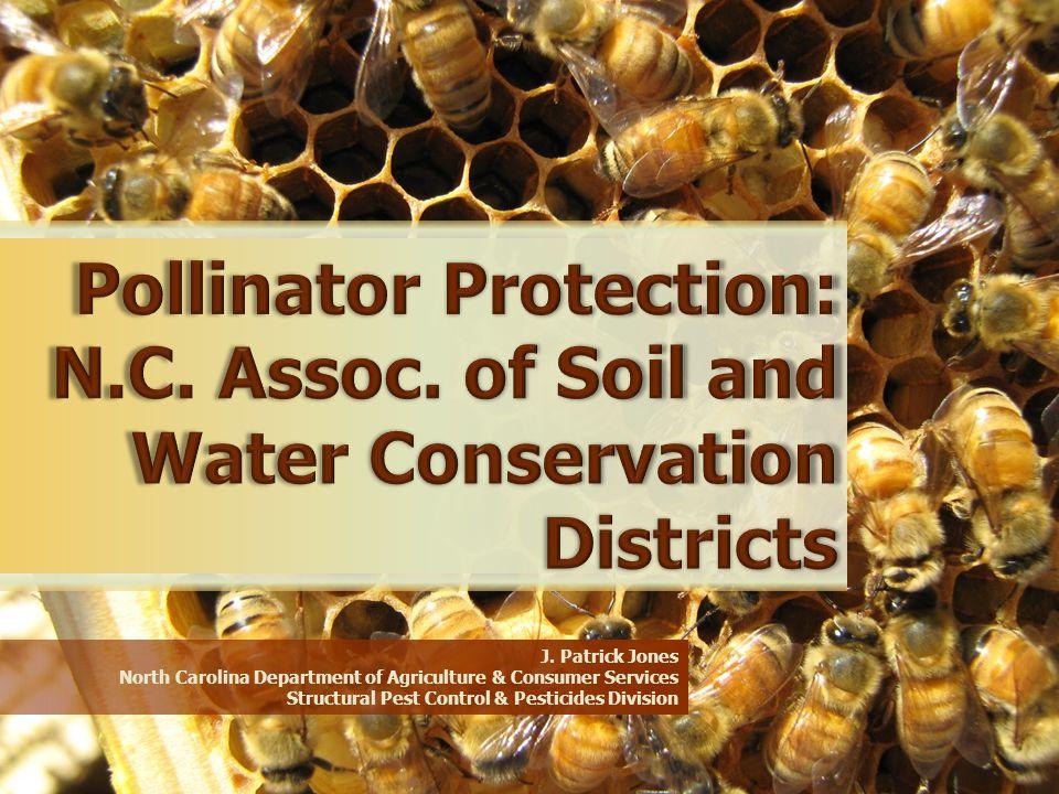 J. Patrick Jones North Carolina Department of Agriculture & Consumer Services Structural Pest Control & Pesticides Division